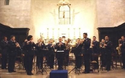 La Fanfara dell'Aeronautica Militare in concerto nella Basilica di Santa Caterina d'Alessandria a Galatina