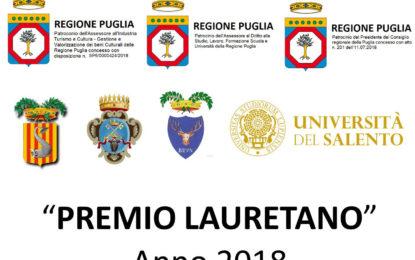 PREMIO LAURETANO 2018