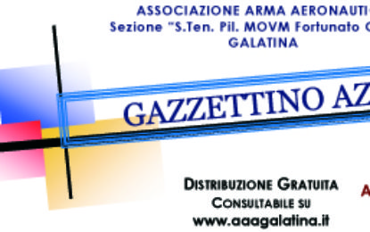 On-line il numero di Aprile 2020 del Gazzettino Azzurro