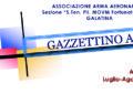 On-line il numero di Luglio Agosto settembre 2020 del Gazzettino Azzurro