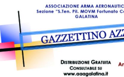On-line il numero di Giugno 2020 del Gazzettino Azzurro