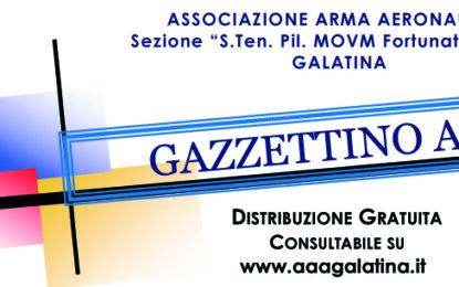 On-line il numero di Aprile 2021 del Gazzettino Azzurro