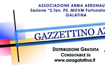 On-line il numero di Maggio 2021 del Gazzettino Azzurro