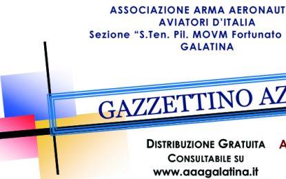 On-line il numero di Ottobre 2021 del Gazzettino Azzurro